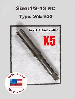 "7//16-20 NF 7//16/""x20 Tap HSS Greenfield Morse Butterfield others sae std"