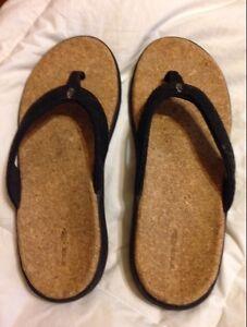 Cork flip-flops