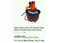 Belle tub mixer