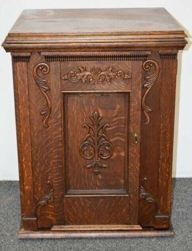 Antique American Oak Treadle Sewing Machine .... Minnesota Brand