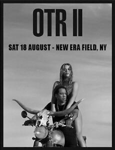 Two ONTII Beyonce & Jay-Z Tickets - New York August 18th