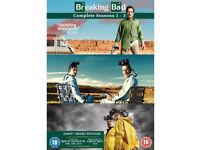 Breaking Bad - Complete Seasons 1-3 - [DVD 3-Disc Box Set] VGC