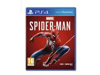 New Spider-Man ps4 game sealed
