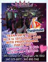 Valentine s Day!Disco Party for Teen