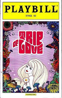 TRIP OF LOVE PLAYBILL NEW YORK CITY NY BROADWAY JANUARY 2016