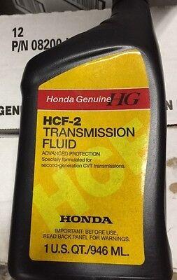 4 QTS Honda Genuine OEM CVT Transmission Fluid 08200 - HCF2 ( For Civic&Accord)