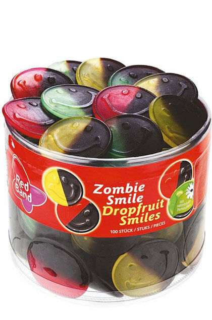 (3,58€/kg) Red Band Zombie Smile 100 Stück