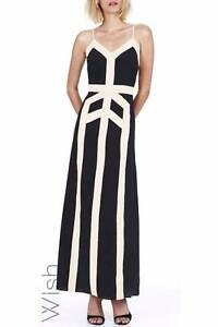 Wish fashion label Chalice Maxi- Black with white panels Aspendale Gardens Kingston Area Preview