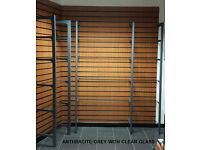 Office Glass Shelving display system home retail shop salon