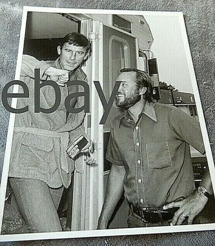 1974 Vintage Planet of the APES TV make up PHOTO-Roddy McDowall-MARVEL mag #2