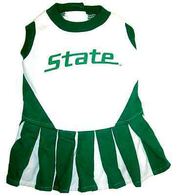 Michigan State Spartans Dog Cheerleader Outfit](Dog Cheerleader Outfit)