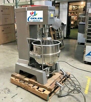 New 80 Quart Mixer Machine 3 Speed Bakery Kitchen Equipment Mx80 Commercial Use
