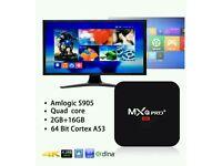 MXQ PRO ANDROID TV BOXS. FULL WARRANTY
