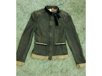 Beautiful Ted Baker ladies denim jacket size 0(6) in mint condition