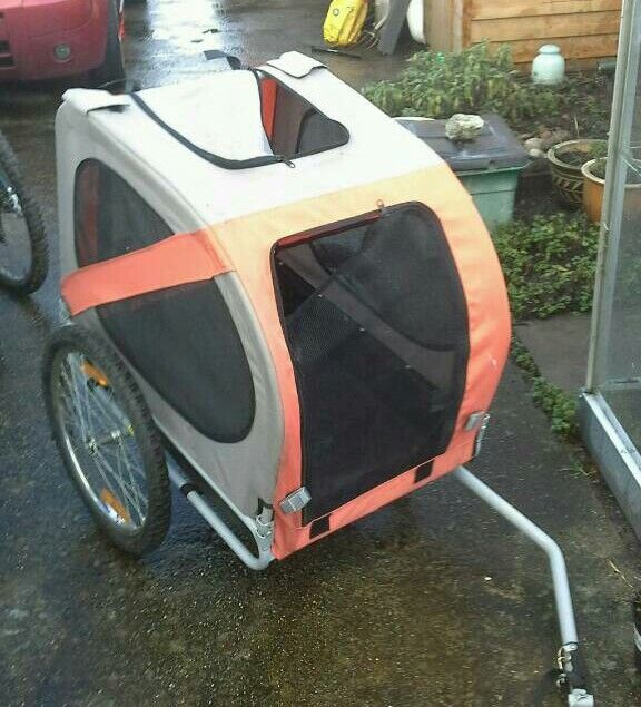 **REDUCED**Double PET/CAMPING bike trailor for sale