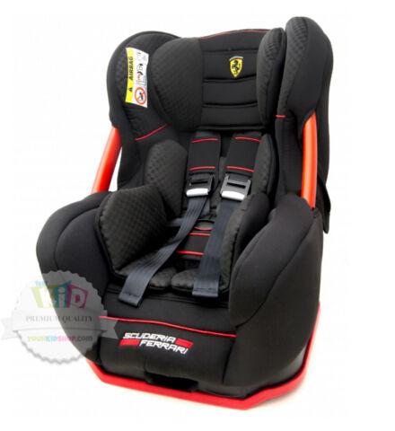 ferrari eris black gt autositz kindersitz baby seat 0 25. Black Bedroom Furniture Sets. Home Design Ideas