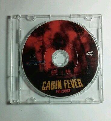 CABIN FEVER HORROR THEATRICAL 2003 MOVIE TRAILER SMALL DVD ROM RARE