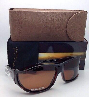 Polarized VISTANA Sunglasses W303C Fits Over Large Rx Eyeglasses Tortoise/Copper