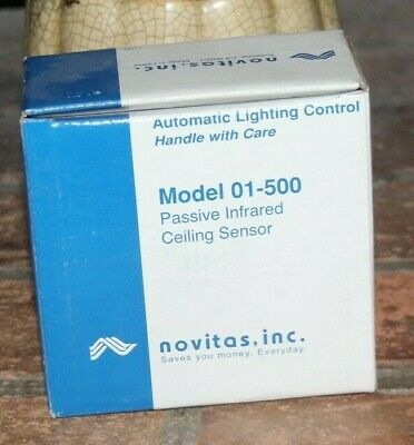 Novitas 01 500 Passive Infrared Ceiling Occupancy Sensor Motion Detector