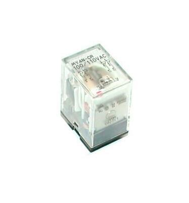 Omron My4n-cr General Purpose Relay 100110 Vac 5 Amp 14-pin