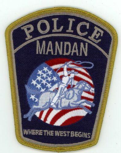 MANDAN POLICE NORTH DAKOTA NICE COLORFUL PATCH SHERIFF