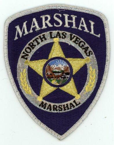NORTH LAS VEGAS NEVADA NV MARSHAL NEW SHOULDER PATCH POLICE SHERIFF