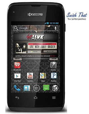 Kyocera Event Prepaid Android Phone  Virgin Mobile  3 2 Mp Camera  3 5  Screen