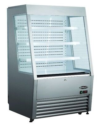 Kool-it Kom-36ss 36 Refrigerated Open Air Grab And Go Display Case Merchandiser