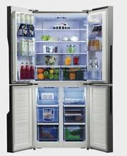 Factory Second Hand Hisens 512L French Door Design Fridge Glenroy Moreland Area Preview