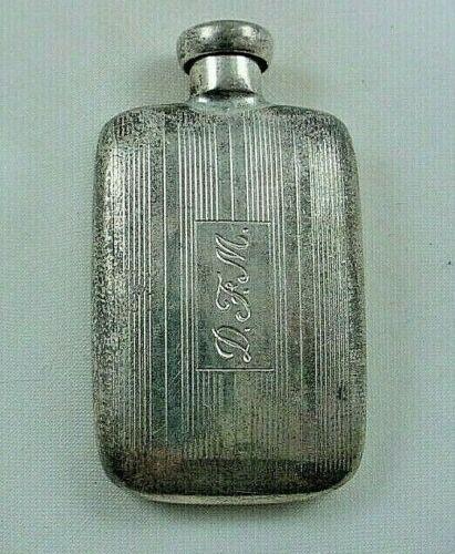 Sterling Silver TIFFANY & CO Small Perfume Parfum Bottle Flask & Dauber Monogram