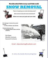 Snow removal winter 2016/2017