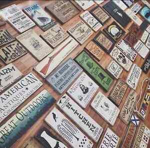 VASSdesign ~ Vintage /Rustic Wood Signs