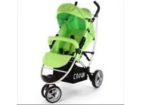 3 wheel pushchair/ buggy new