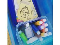 Sand Art borrow box