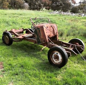 1934 Chev Chevy Chevrolet Tourer Rolling Chassis Panels Truro Mid Murray Preview