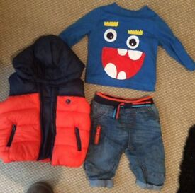 3-6 Months boys full outfit excellent condition
