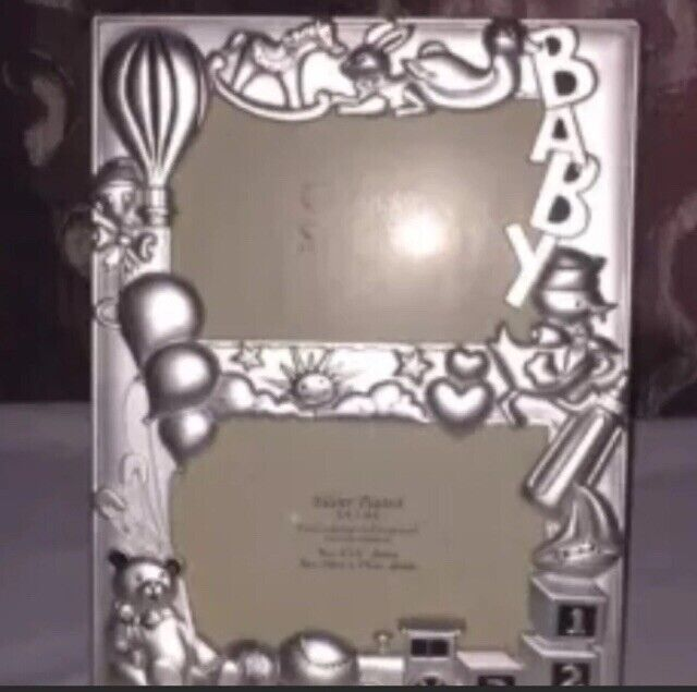 Baby Silver Picture Frame