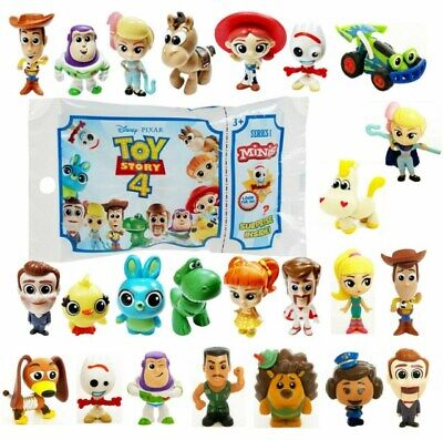 TOY STORY 4 MINIS Figures Series 1 & 2 Blind Bag Mystery Forky Slinky Buttercup