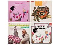 Collection of approximately 225 records - all James Last recordings