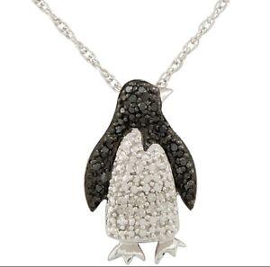 Penguin Diamond pendent