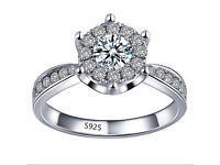 Romantic engagement ring just perfect