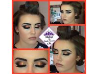 Salon based fully qualified level 3 makeup artist.