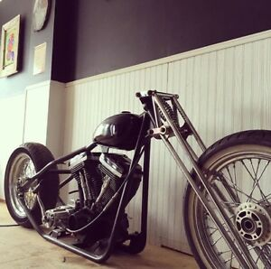 Hardtail Harley project