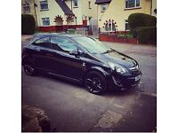 Vauxhall Corsa Limited Edition Black