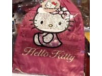 Brand New, with tags attached, Hello Kitty Swimming Bag