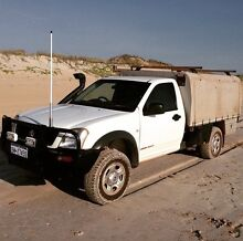 Holden rodeo 2003 RA Cable Beach Broome City Preview