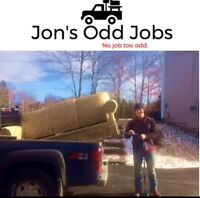 Truck for hire, tree removal and yard cleanup, landscaping etc!