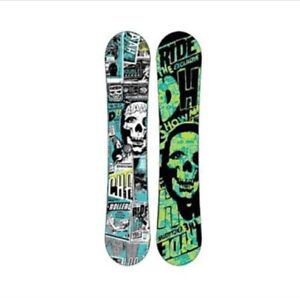 Ride DH 51 Snowboard with Bindings