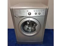 Indesit silver washing machine fully reconditioned