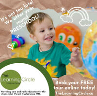 The Learning Circle - We Offer Year Round Preschool!
